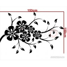 Sticker decorativ Floricele