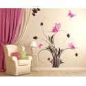 Sticker decorativ Floricele