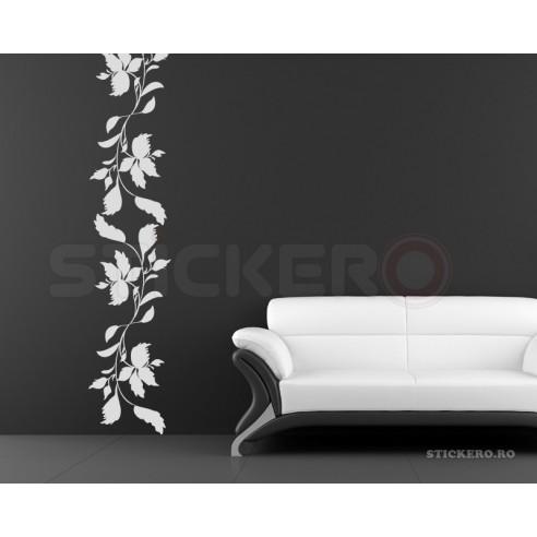 Coloana florala 4 - sticker decorativ