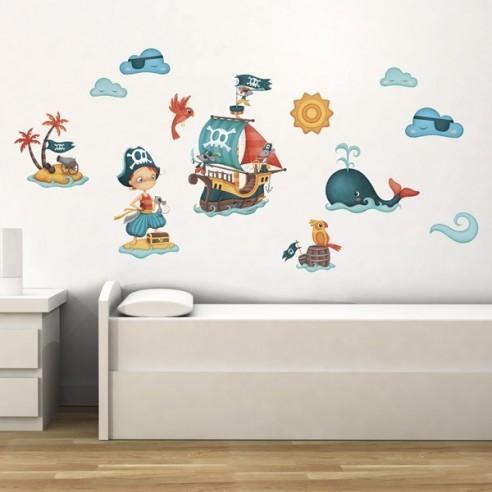 Sticker pentru copii Micul Pirat
