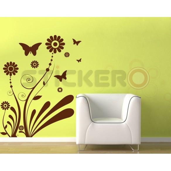 Sticker decorativ Padure de Mesteacan