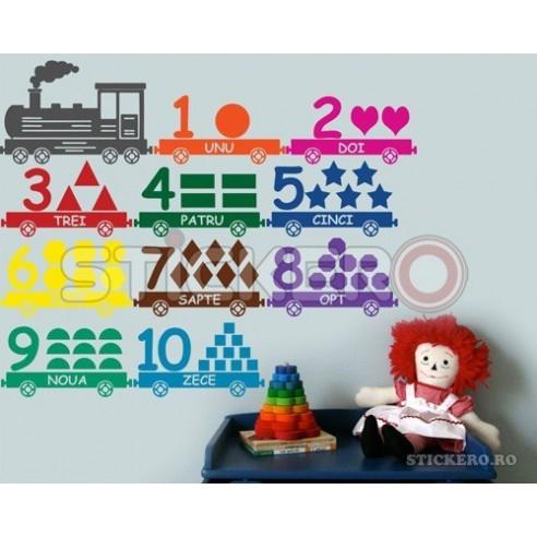 Sticker decorativ Trenuletul cu...