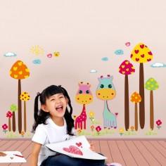 Stickere pentru decorarea camerei copilului – Spațiu cosmic