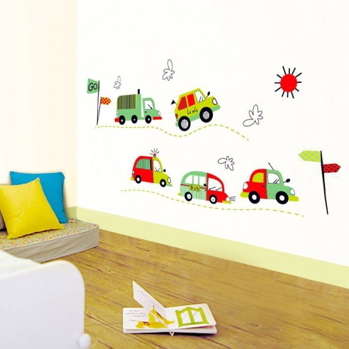 Stickere decorative pentru copii - Pui de animăluțe