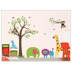 Sticker Zoo Primavara