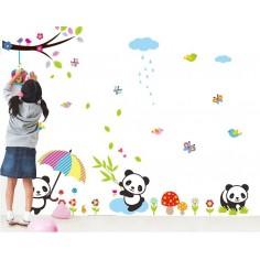Sticker Ursuletii Panda