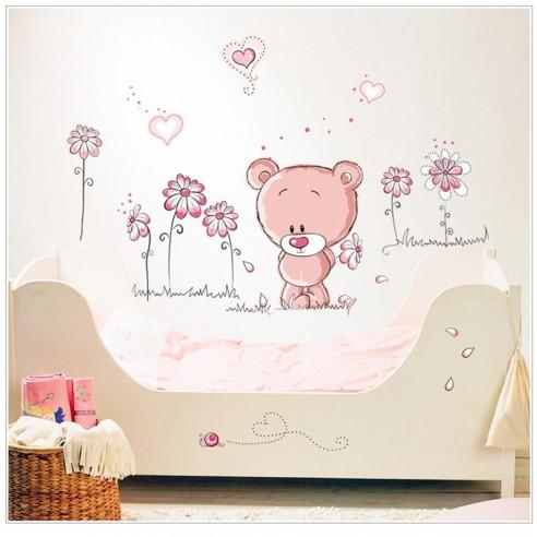 Sticker Ursuletul roz