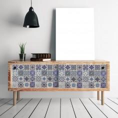 Sticker Spanish Blue Tiles...