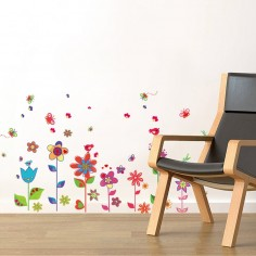 Stickere decorative POPPY FLOWER