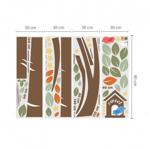 Autocolant decorativ arborele familiei