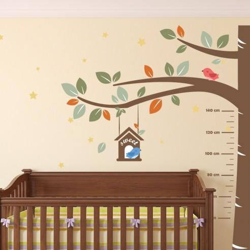 Autocolant decorativ copac pentru poze