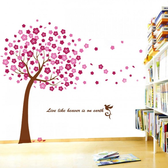 Autocolant decorativ etajera happy-life