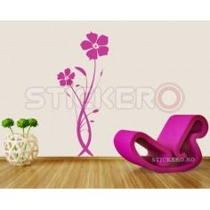 Sticker decorativ Floare...