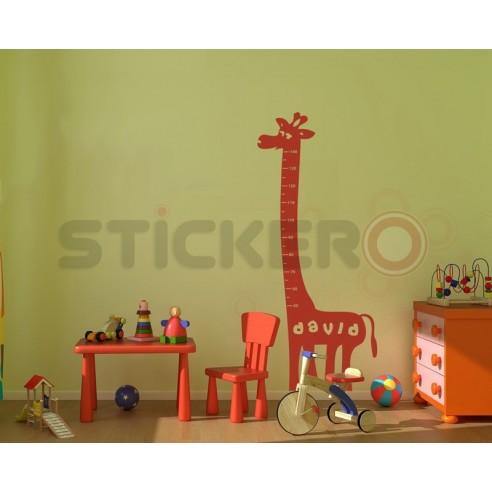 Girafa - sa ne masuram inaltimea