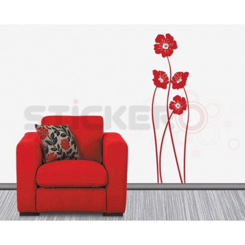 Sticker de perete Crenguta florala