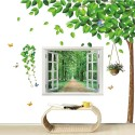 Crenguta inflorita - sticker decorativ