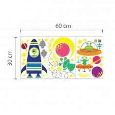 Sticker pentru copii Mica vulpita