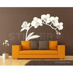 Sticker decorativ Floare eleganta