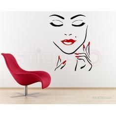 Sticker decorativ Make-up &...