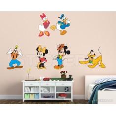 Sticker pentru copii Mickey...