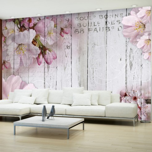 Fototapet - Apple Blossoms - 400x280cm