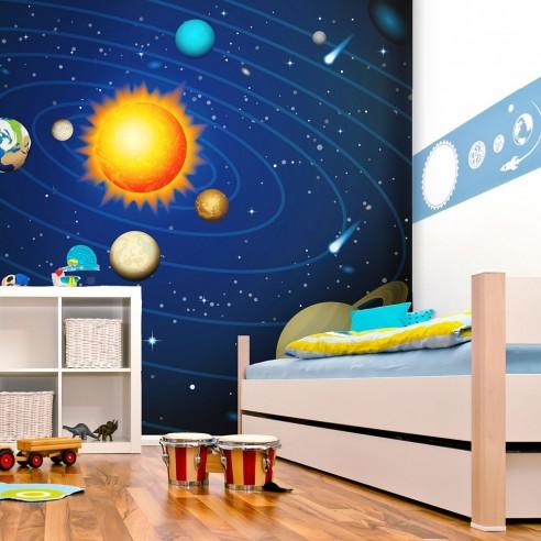 Fototapet - Solar system - 300x231cm