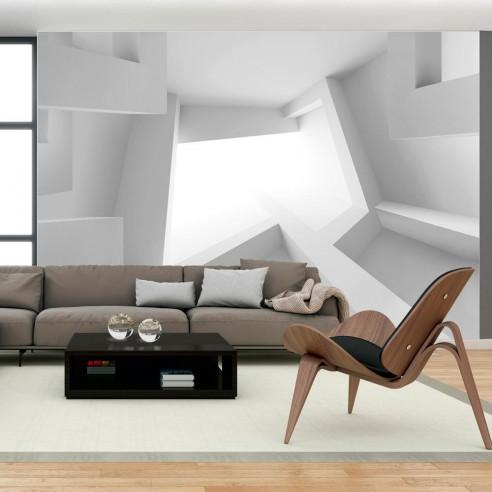 Fototapet - White room - 400x280cm