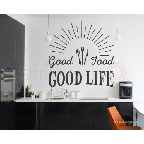 Sticker de perete - Good Food
