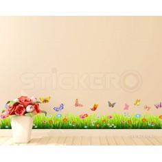 Sticker de perete - Iarba,...