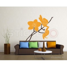 Sticker Orhidee