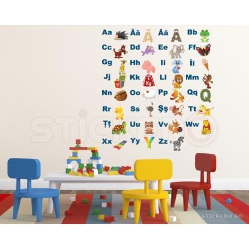 Alfabetul ilustrat in limba romana -...