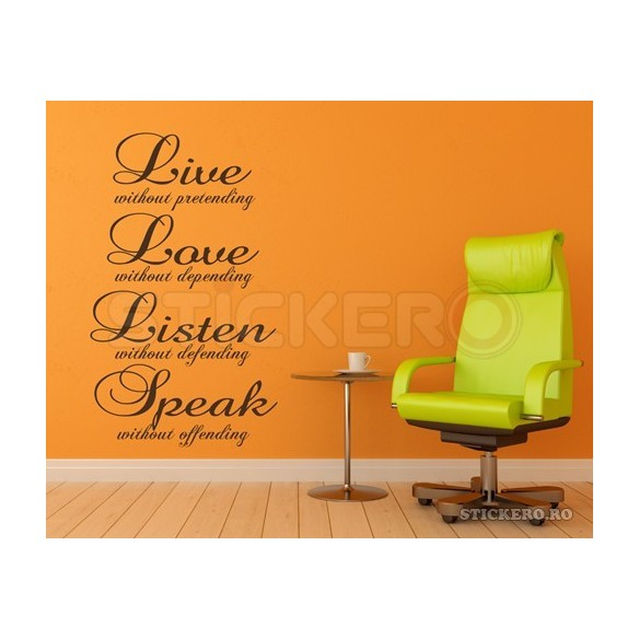 Sticker decorativ Pisicute Jucause