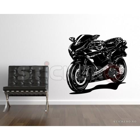 Sticker de perete Ducati Corse 848EVO