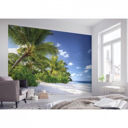 Fototapet natura Palmieri la mare,...