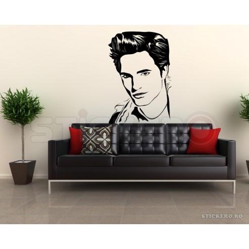 Sticker de perete Robert Pattinson