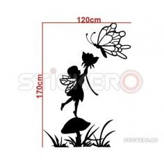 Sticker de perete Coloana Florala
