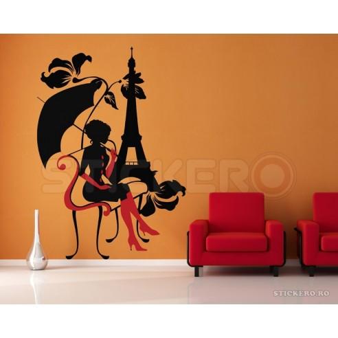 Sticker de perete Frumoasa Adormita