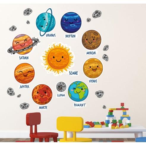 Sticker pentru copii Planete / Sistem...