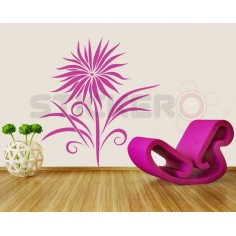 Sticker decorativ Floarea...