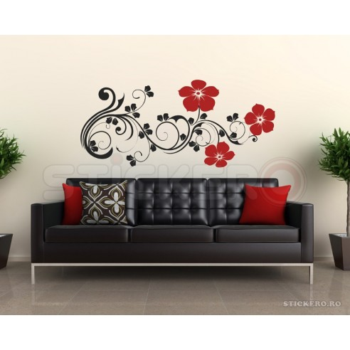 Sticker perete Decor Floral