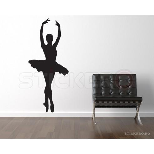 Sticker decorativ Balerina 1