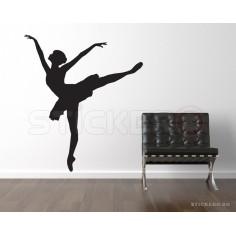 Sticker decorativ Balerina 2
