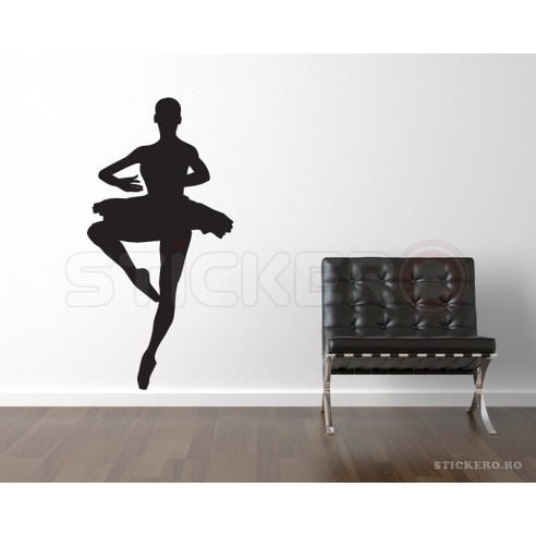 Sticker decorativ Balerina 3