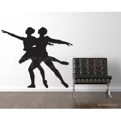 Sticker decorativ Cuplu...