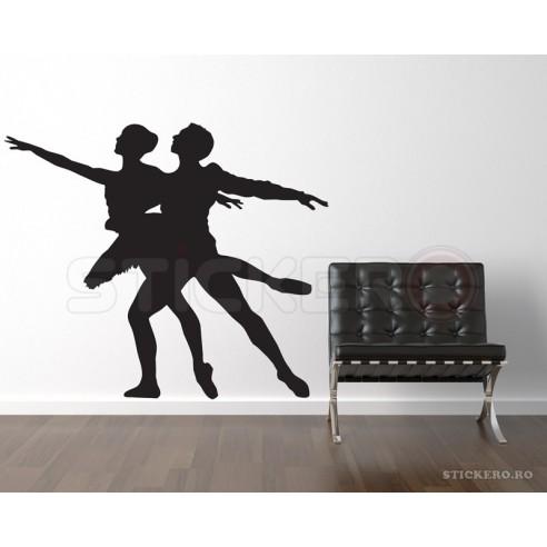 Sticker decorativ Cuplu balerini 1