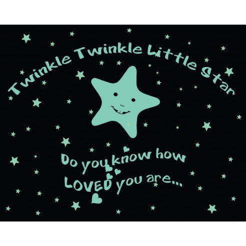 Sticker fosforescent - Twinkle...