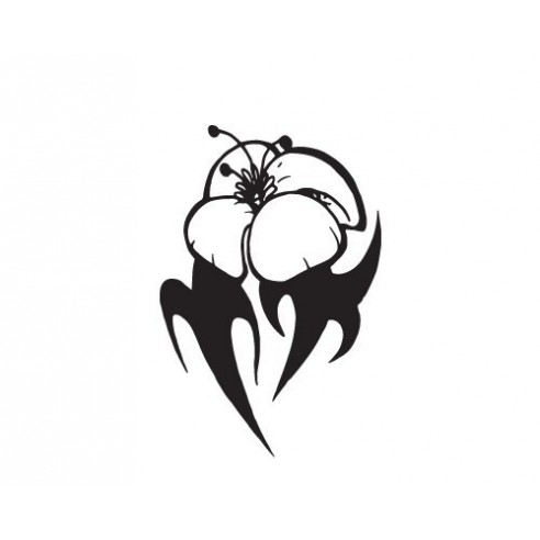 Sticker decorativ Ochi tribal