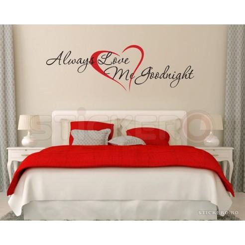 Always Love Me Goodnight - sticker mesaj