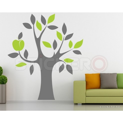 Copac modern - sticker decorativ
