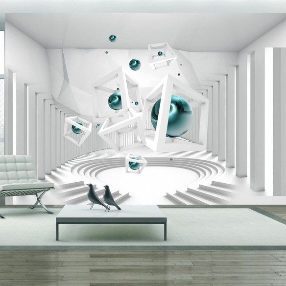 Fototapet  Corridor of Geometry